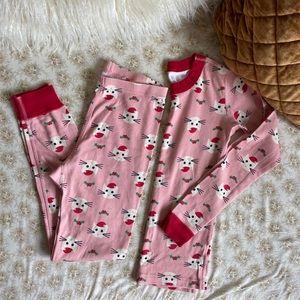 Hanna Andersson | Christmas cat pajamas